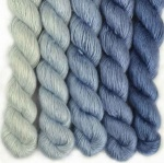 Artyarns Silken Transitions Shawl Kit - Blues
