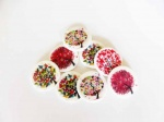 Natural Shell Tree Buttons - Assorted Designs