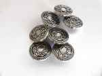 ''Silver'' Victorian Buttons