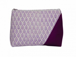 Knit Pro Reverie Triads Lavender Zipper Pouch