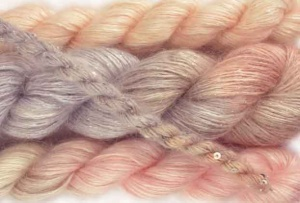Artyarns Winter's Breath Wrap - Blush