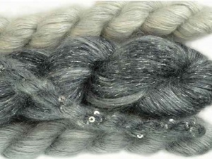 Artyarns Winter's Breath Wrap - Silver