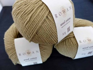 Rowan Wool Cotton #995, Sandstone
