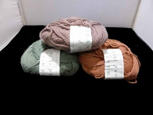 Rowan Wool and Cotton - 3 Balls One Lot